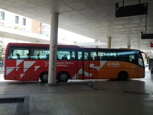 Bus from BCN
